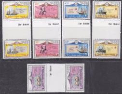 Turks & Caicos Islands 1979 Sir Rowland Hill 5v Gutter ** Mnh (30105) - Turks- En Caicoseilanden