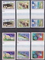 Barbados 1979 Space Project 6v Gutter ** Mnh (30106) - Barbados (1966-...)