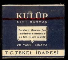 Etui à Cigarettes KULUP TURQUIE   1 - Zigarettenetuis (leer)