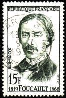 FRANCE  1958  -  Y&T 1148 -  Foucault   - Oblitéré - Used Stamps