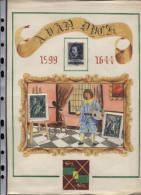 Belgie Herdenkingskaart 1944 Antoon Van Dijck Antohny Van Dyck Original Drawing+ Painters Set 1965 FDC CGER ASLK 1322/26 - Herdenkingskaarten