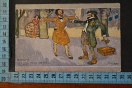 1920  BONZAGNI  Umoristica  BOHEME.  Amo Mimi'..... - Illustratori & Fotografie