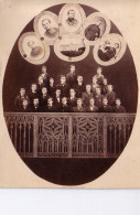 49 Institution Libre Pensionnat De COMBREE Groupe élèves Et Professeurs 1872 - Photographs