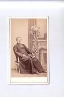 49 COMBREE Photo CDV Professeur Prêtre 1875 Institution Pensionnat - Anciennes (Av. 1900)