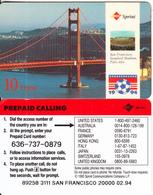 USA - World Cup 1994, San Fransisco, Sprint Promotion Prepaid Card, Tirage 20000, 02/94, Used - Sprint