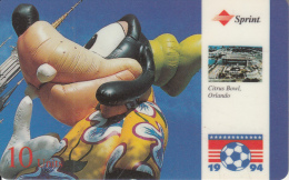 USA - World Cup 1994, Orlando, Sprint Promotion Prepaid Card, Tirage 20000, 05/94, Used