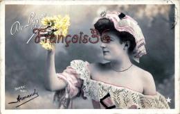CPA Jolie Fille - Frau - Lady - Jeune Fille Artiste De Lyziar De Lizia Par Sazerac Theatre Paris 1906 - Artiesten