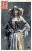 CPA Jolie Fille - Frau - Lady - Jeune Fille Artiste D'Albany Par Sazerac Theatre Paris - Artiesten