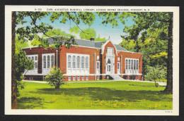 Lenoir Rhyne College Carl Augustus Rudisill Library Hickory North Carolina Unused C1930s STK#93805 - Schools