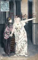 CPA Jolie Fille - Frau - Lady - Jeune Fille Artiste Sarah Bernhardt Dans Phedre Theatre Paris - 1906 - Artistes
