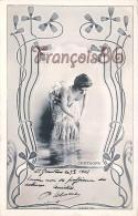 CPA Jolie Fille - Frau - Lady - Jeune Fille Certagne Théatre De Paris - Art Nouveau 1903 - Artiesten