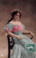 CPA Jolie Fille - Frau - Lady - Jeune Fille Felicitas Cerigioli Artist NY 1908 - Artisti