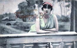 CPA Jolie Fille - Frau - Lady - Jeune Fille Lucrèce - Artist Théatre Paris 1907 - Artiesten