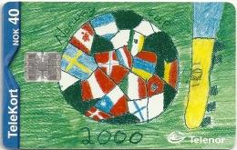 Norway - Telenor - Norway Cup 2000 - N-171 - SN C04139542 - 05.2000, 19.963ex, Used - Noruega