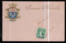 Souvenir De Versailles  (trait Blanc Défaut Scan ) - Odd166 - Versailles