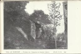 LE TREPORT, RUINES DE L'ABBAYE ET JARDIN PUBLIC - Le Treport