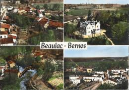 CPSM Beaulac Bernos - Vue Aérienne - Frankrijk