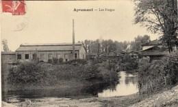 08 - APREMONT - Les Forges. CPA Glaçée - Altri Comuni