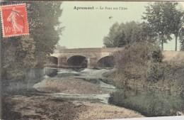 08 - APREMONT - Pont Sur L´Aire . CPA Glaçée - Altri Comuni