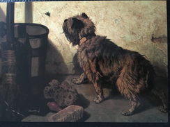 STEVENS JOSEPH  DE HOND MET DE VLIEG  1856 - Malerei & Gemälde