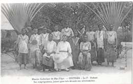 ONITSHA --Le Pére DUHAZE,ses Congregationistes ,jeunes Gens Tres Dévoués Aux Missionnaires - Nigeria