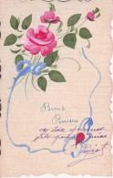 AK Rosen - Handgemaltes Unikat(?) - 1928 (23029) - Blumen