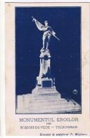 Romania Monumentul Eroilor Din Rosiori-De-Vede Teleorman - E. Marvan / Executat De Sculptorul D. Mataoanu - Roumanie