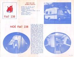 """04300 """"AUTO-ROULOTTE - NOE LANCIA SUPER JOLLY - NOE FIAT 625 - NOE FIAT 238 - NOE FORD TRANSIT"""" PUBBL. ORIGINALE - Pubblicitari"""