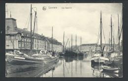 CPA - LOUVAIN - LEUVEN - Les Bassins - Cachet Militaire - Nels   // - Leuven