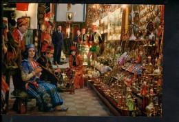 Q1324 ISTANBUL Ve GUZELLIKLERI - KEPALI CARSI - ALI BABA PAZARI - INNENRAUM VON BAZAR - COSTUME, FALK - Turchia