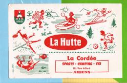 Buvard & Blotting Paper : La HUTTE  La Cordée AMIENS  Differents Sports - Sports