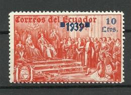 ECUADOR 1936/39 MNH - Ecuador