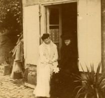 France Vacances En Cote D'Azur Campagne Ancienne Photo Amateur Stereoscope Pourtoy 1900 - Stereoscopic