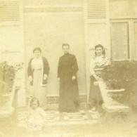 France Vacances En Cote D'Azur Ancienne Photo Amateur Stereoscope Pourtoy 1900 - Photos Stéréoscopiques