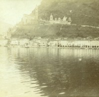 France Vacances En Cote D'Azur Ancienne Photo Amateur Stereoscope Pourtoy 1900 - Stereoscopic