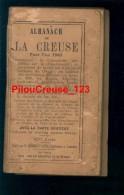 23 Creuse - ALMANACH 1943 - Avec La Carte Routière Du Département - Dim. 8 X 14 Cm - 206 Pages - 1901-1940