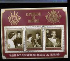 Visite Du Roi Baudouin   Bloc 42 ** Cote 11 € - 1970-79: Neufs