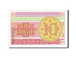 Kazakhstan, 10 Tyin, 1993-1998, 1993, KM:4, NEUF - Kazakhstan