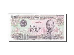 Viet Nam, 2000 Dong, 1988-1991, 1988, KM:107a, NEUF - Vietnam