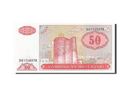 Azerbaïdjan, 50 Manat, 1993-1995, Undated (1993), KM:17b, NEUF - Azerbaïdjan
