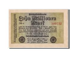 Allemagne, 10 Millionen Mark, 1923, KM:106a, 1923-08-22, SPL - [ 3] 1918-1933 : Weimar Republic