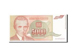 Yougoslavie, 5000 Dinara, 1993, 1993, KM:128, NEUF - Yougoslavie