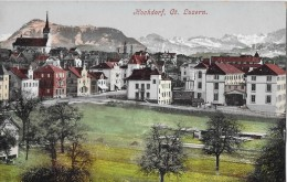 HOCHDORF → Dorfpartie, Ca.1910 - LU Luzern