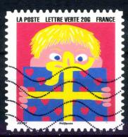 ADHESIF CARNET 2016 OBLITERE - France