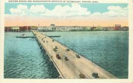 BOSTON - Harvard Bridge And Massachusetts Institute Of Technology - Boston