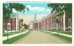 BOSTON - Harvard Graduate School Of Business Administration - Boston