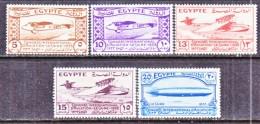 EGYPT  172-6  *  ZEPPELIN - Égypte