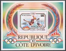 Ivory Coast 1983 Mi# 787-90+ Bl.25** OLYMPIC GAMES, LOS ANGELES 84 - Costa De Marfil (1960-...)
