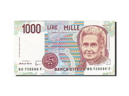 Italie, 1000 Lire, 1990-1994, KM:114c, 1990, SPL - [ 2] 1946-… : République