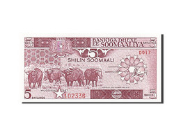 Somalie, 5 Shilin = 5 Shillings, 1983, 1987, KM:31c, NEUF - Somalia